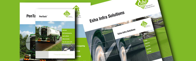 Download brochures en productbladen van Esha